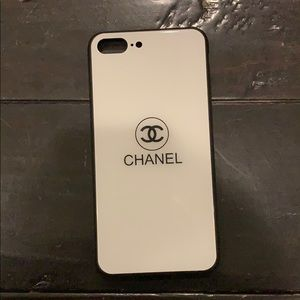 Chanel phone case iphone 7/8 plus